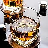 YGWALL Copa de Cerveza de Whisky Bar Copa de Vino Copa de Cristal de hogar Taza de té