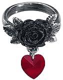 Alchemy Gothic Cherish Ring Anillo Standard M