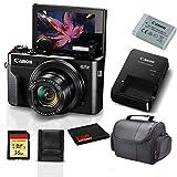 Canon PowerShot G7 X Mark II Digital Camera 1066C001 (International Model) Bundle with 8GB SDHC Class 10 Memory Card + More