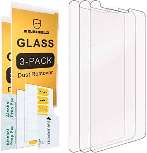 Mr.Shield-[3-PACK] Designed For Alcatel Dawn/Alcatel Ideal/Alcatel Streak [Tempered Glass] Screen Protector with Lifetime Replacement