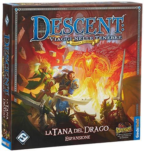Giochi Uniti Descent Viaggi Nelle Tenebre La Tana del Drago - Expansión...