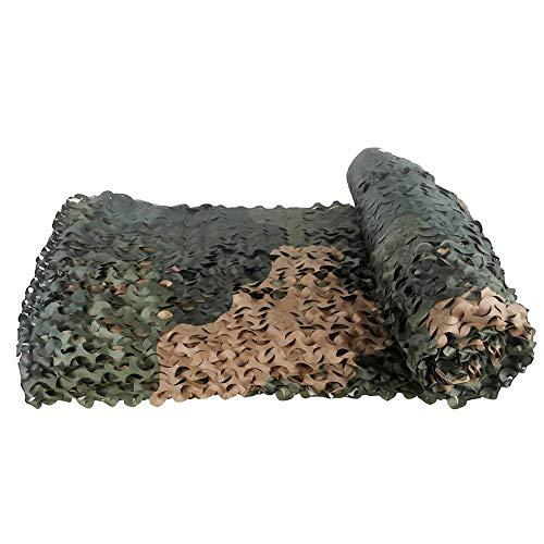 Filet de camouflage Filet de camouflage , Grandes fleurs à une couche Camo Shade Net Extérieur Montagne Vert Couverture Net Décoration intérieure Net Véhicule Protection solaire Net TJWY SHOP