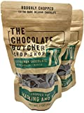 GOURMET EXTRA DARK CHOCOLATE - Chef-grade quality with 70% cocoa content, this Belgian extra dark chocolate is intense, yet balanced, without a dry, coarse, or heavy bite. Excellent for baking, cooking, melting, or eating straight out of the bag, thi...