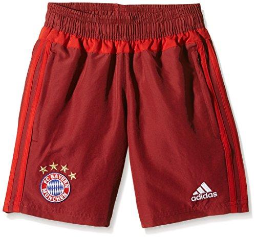 adidas Kinder FC Bayern Woven Shorts Youth, Craft True Red F12, 128