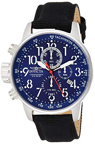 Invicta Men's I-Force INV-1513 Black Nylon Swiss Chronograph Dress Watch