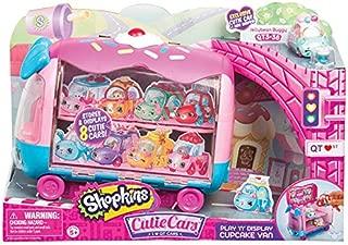 CUTIE CARS Shopkins Play 'n' Display Cupcake Van