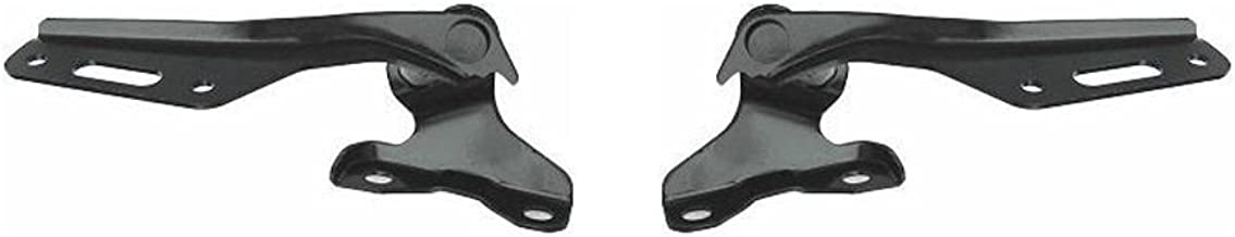 Hood Hinge for Honda Accord 05 Steel Set of 2 Left and Right Side