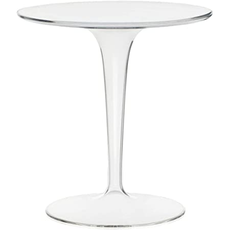Kartell Tip Top, Table, Cristal