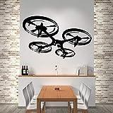 Ajcwhml Drone Autoadhesivo Papel Tapiz de Vinilo Sala de Estar habitación para niños Arte de la Pared Pegatina Mural Pegatina