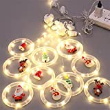 CJFHBVUQ Luces de Cadena de Cortina LED, Guirnaldas de carámbanos de Bola de Deseos, Alimentado por USB, Impermeable, para Terraza,Boda,Fiesta,Navidad