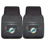 FANMATS - 8770 NFL Miami Dolphins Vinyl Heavy Duty Car Mat,18'x27'