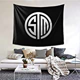 TSM Team Logo Tapestry Wall Hanging Decoration Apartment Home Art Wall Tapestry Bedroom Living Room Dormitory Fashion 6051inch