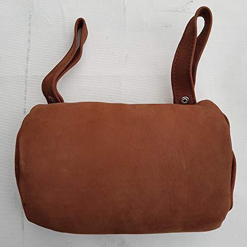 crooza Kopfstütze aus Büffelleder Büffel Leder Buffalo Leather Western Style