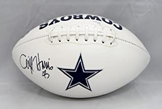 Cliff Harris Autographed Dallas Cowboys Logo Football- JSA Witnessed Auth