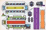 RECORTABLES SERIE AYER Y HOY VL ESTEBAN. Autobus Dos Pisos Ii: Turismo...