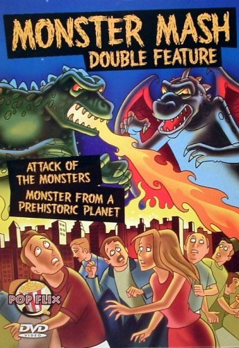 MONSTER MASH Double Feature - Attack of the Monsters (aka Gamera vs. Guiron, 1969) & Monster From A Prehistoric Planet (1967) (2006 DVD)