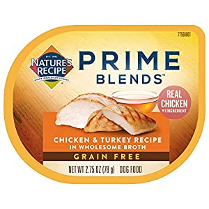 Nature's Recipe Prime Blends Wet Dog Food, 2.75 Ounce Cups