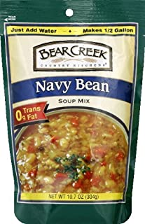 Bear Creek Navy Bean Soup Mix 10.7oz (Pack of 3) by Bear Creek