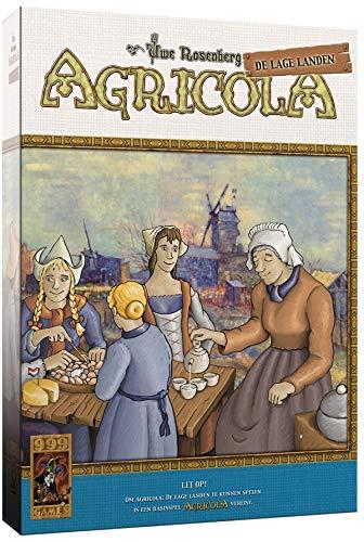 999 Games 999-Agr03 Agricola: De Lage Landen Bordspel Bordspel, Alle Kleuren