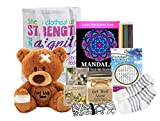 Get Well Gifts for Women - Fell Better Gift - Get Well Kit with get Well Teddy Bear