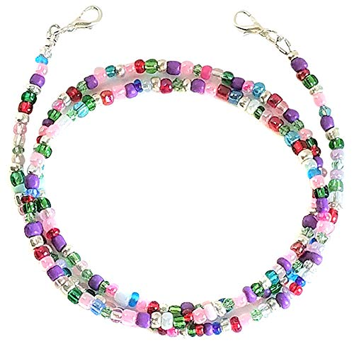 Crazyfly Umhängeband mit Perlen, für Hundeleinen, Handarbeit, für Gesicht