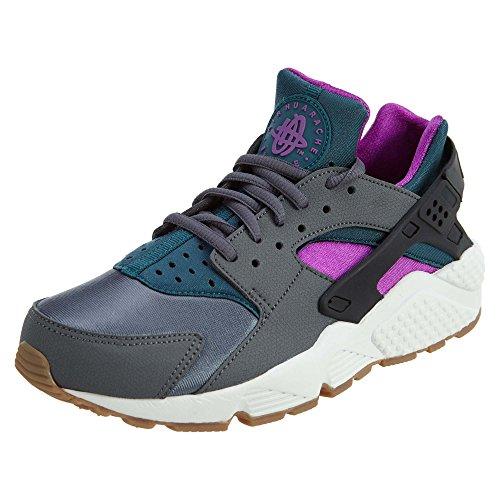 Nike Air Huarache Run Womens Style: 634835-016 Size: 6 M US Dark Grey/Teal