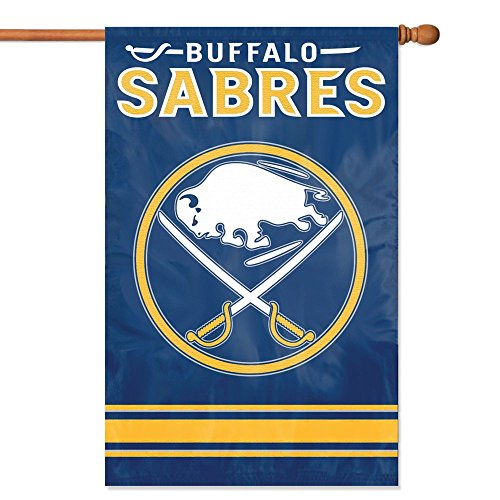 Party Animal Buffalo Sabres Banner NHL Flag Sports, 44 x 28-Inch