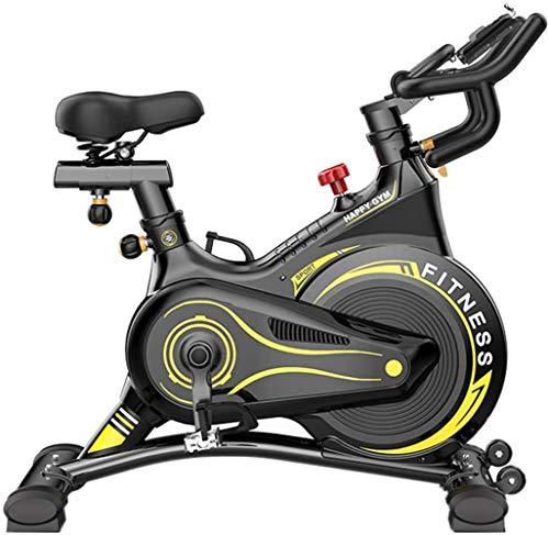 YDHBD Bicicleta De Ejercicio, Mudo Hilandería Bicicleta De Ciclismo Equipo De Entrenamiento para Deportes Gimnasio Casa