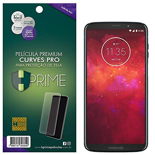 Pelicula Curves Pro para Motorola Moto Z3 Play, HPrime, Película Protetora de Tela para Celular, Transparente
