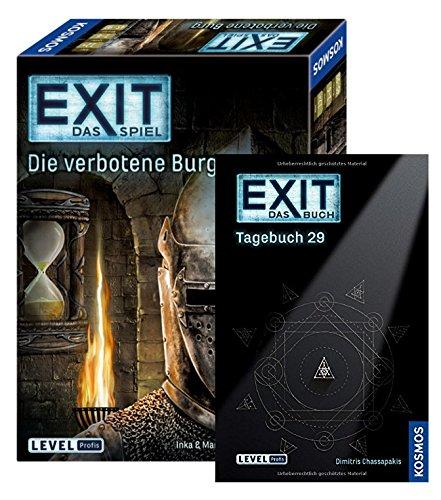 EXIT Kosmos Spiele 692872 - Juego de mesa (29 - 144 páginas, texto en alemán)