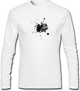 Hefeihe DIY LebrijaAltSlider Men's Long-Sleeve Fashion Casual Cotton T-Shirt
