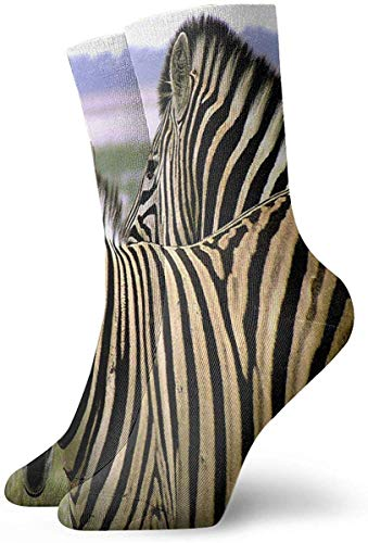 iuitt7rtree Crew Socken Animals of Africa Zebra Athletic Socken Unique Anti Bacterial Odour Cushion Short Boot Stocking socks7590