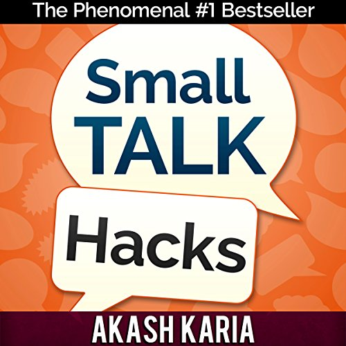 Small Talk Hacks audiobook cover art