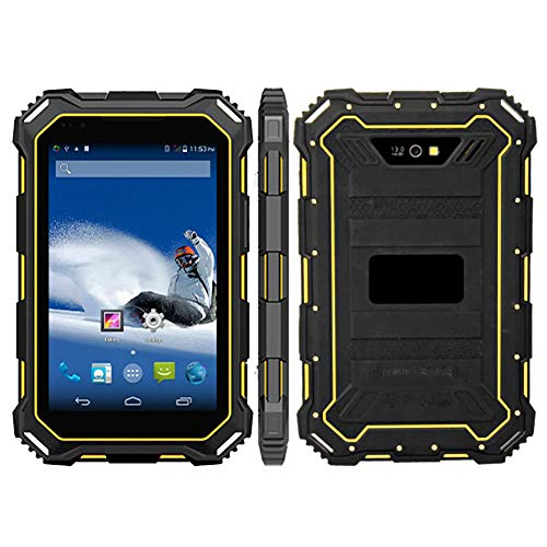 HiDON 7 inch Rugged Android Tablet with NFC MTK6762 4G+64G 9000Mah Battery Waterproof Ip68 Tablet pc Handheld for Enterprise Mobile Work