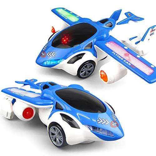 WINBST Flugzeug Flugzeug Spielzeug Flugzeug Hubschrauber Airbus Spielzeug mit schönen Lichtern lautes Spielzeug für Kinder