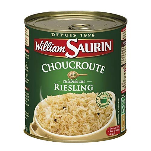 William Saurin - Sauerkraut Au Riesling 1 x 810G-Ringpull-Dose