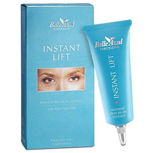 Belle Azul - Instant Lifting - Elimina las Ojeras y Bolsas de los Ojos, Reduce las líneas de expresión y arrugas faciales