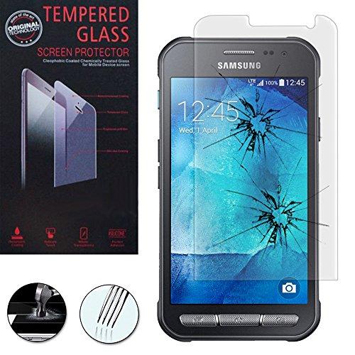 Annart Displayschutzfolie für Samsung Galaxy Xcover 3 SM-G388F – Displayschutzfolie aus Hartglas für Samsung Galaxy Xcover 3 SM-G388F/ Xcover 3 (2016) Value Edition SM-G389F
