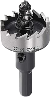 uxcell 28mm HSS Drill Bit Hole Saw Cutter for Metal Alloy Wood