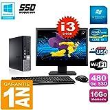 Dell Mini PC 790Ultra USFF de la Pantalla 22Core i3–210016GB 480Go SSD WiFi W7