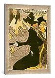 Gerahmtes Bild von Henri de Toulouse-Lautrec Poster