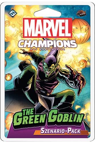 Asmodee Marvel Champions: Das Kartenspiel - The Green Goblin, Szenario Erweiterung, Deckbau, Deutsch