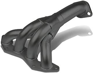 For Honda Civic 4-1 Design Stainless Steel Exhaust Header Kit (Black Ceramic Coated) - 7 Gen EM ES D17A1 Engine