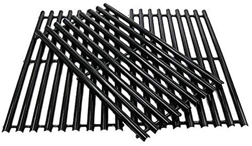 Cooking Grid Grate for Charbroil 463420507, 463420508, Kenmore 463420507, 461442513, Porcelain Enameled Grates Replacement Parts for Master Chef 85-3100-2, 85-3101-0 Gas Grill 16-7/8', 3 Pack
