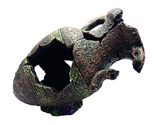 DUVO 7527104 Decoración Acuario Ánfora, N 104, 28.5 x 17.5 x 22 cm