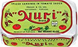 'Nuri' Portuguese Sardines-Many Flavors Available (Pack of 2) (Spiced Tomato Sauce)