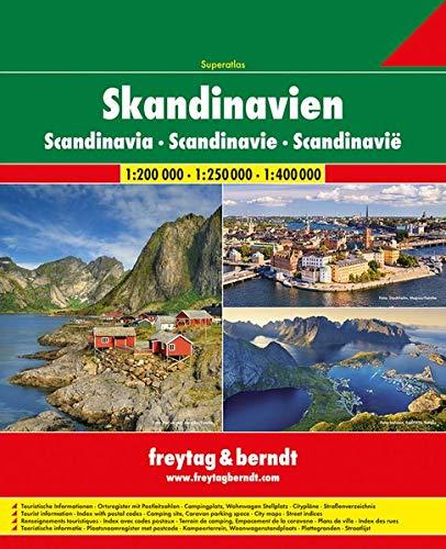 strassenatlas norwegen