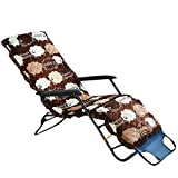 CellDeal Thickening Chair Cushion for Deck-chair,Sofa,Rocking Chair,Sun Lounger Detachable and Washable with Top Cover