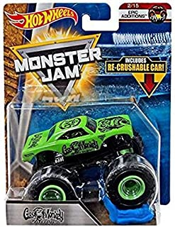 Hot Wheels Monster Jam Epic Additions Gas Monkey Garage With Re-Crushable Car