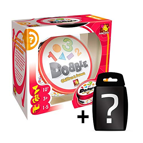 Dobble - 1,2,3 | DEUTSCH | Set inkl. Kartenspiel